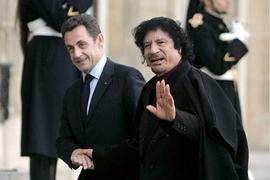 Сын Каддафи: Ливия спонсировала избирательную кампанию Саркози