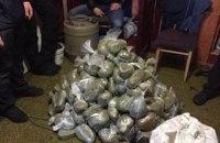 В Киевской области изъяли 100 кг марихуаны