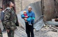Эвакуация из Алеппо ведется, несмотря на обстрел медконвоя