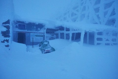 Рятувальники попередили про ускладнення погодних умов на г. Піп Іван Чорногірський