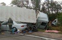 У потрійній ДТП на Кіровоградщині загинули дві пасажирки та водій