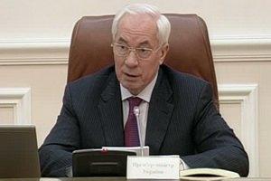 Азаров советует украинцам слезть с пороховой бочки и успокоиться