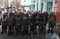 Самооборона Майдана проконтролировала, чтобы Данилюк окончательно освободил Минюст