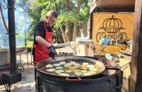 Міжнародний фестиваль дерунів у Коростені зібрав кілька тисяч гостей