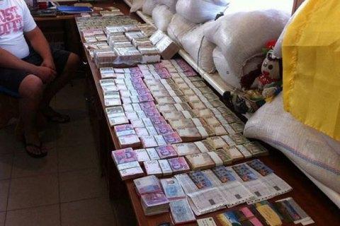 Міліція перехопила 8 млн гривень, що призначалися бойовикам