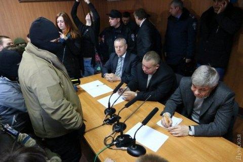 Судейскую коллегию по делу 2 мая заставили подать в отставку