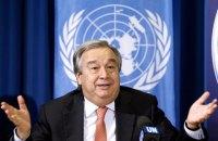 Генсек ООН приветствовал обмен пленными между Украиной и боевиками
