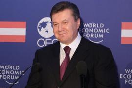 Янукович запутался в слогане
