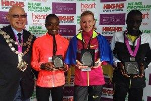 Украинка выиграла марафон в Борнмуте
