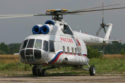 У Росії розбився вертоліт МНС