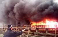 """На метро """"Лесная"""" в Киеве загорелся рынок, станция закрыта"""