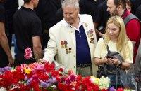 В центре Киева прошли торжественные мероприятия ко Дню Победы