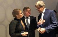 Тимошенко встретилась с бывшим госсекретарем США