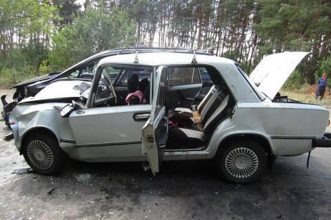 10 пассажиров ВАЗ-2101 госпитализированы из-за ДТП возле Северодонецка
