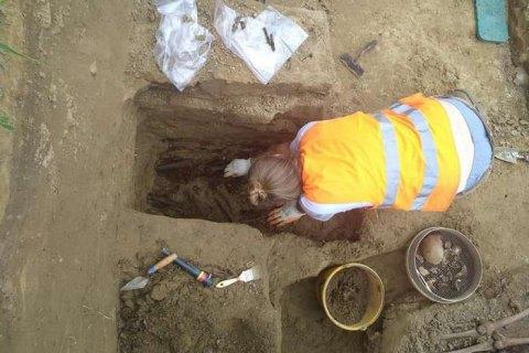 Розкопки на місці пам'ятника воїнам УПА в Грушовичах завершилися