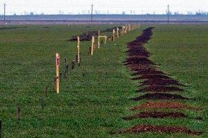 Россия минирует границу Крыма с Украиной
