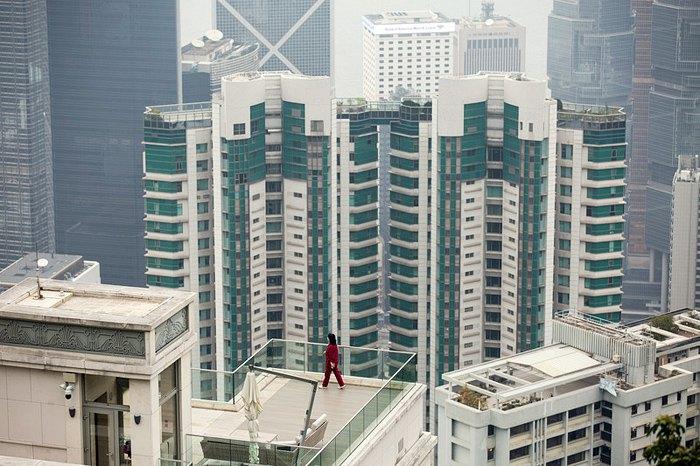 Barker Road, центральный район Гонконга, 20 февраля 2018