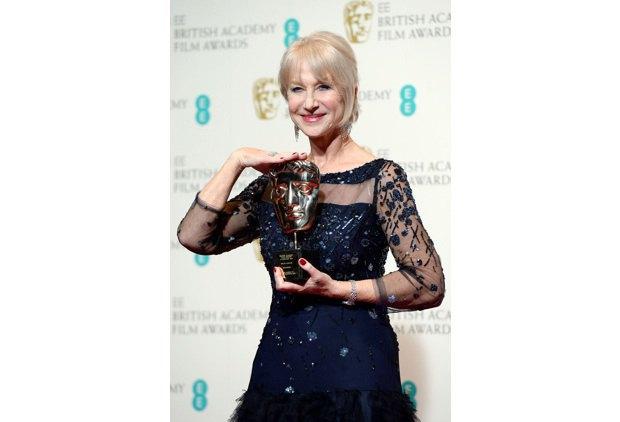 Дама Хелен Миррен получила награду как член Британской киноакадемии