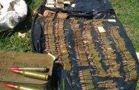 В Новотроицком обнаружили крупный тайник боеприпасов наемников РФ