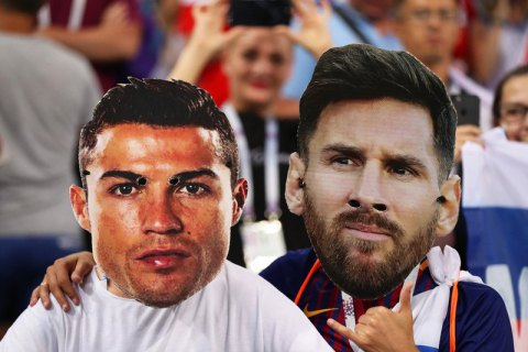 Месси и Роналду будут рядом смотреть финал Кубка Либертадорес в Мадриде