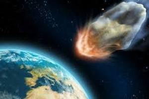 Пятиметровый астероид вошёл в атмосферу Земли