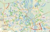 Влада Києва виклала в Інтернет карту ремонту доріг