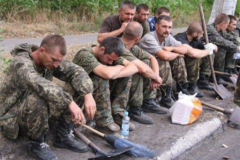 На Донбасі почався процес верифікації полонених