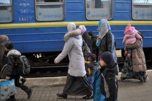 У Львівську область мають намір переїхати 4,4 тис. жителів Криму і Південного Сходу України