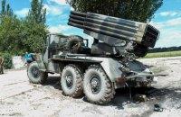 За сутки боевики 152 раза обстреляли силы АТО на Донбассе