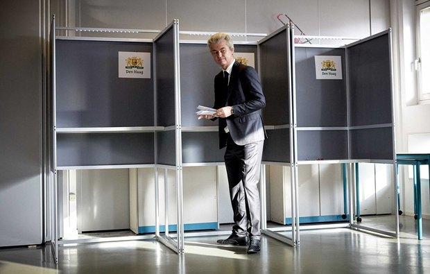 Герт Вилдерс, лидер Партии Свободы(PVV)