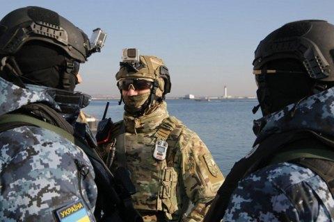 США передали украинским морским пограничникам спецоборудование