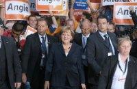 Меркель отдала свой голос на парламентских выборах в Германии