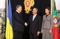 Порошенко пригласил президента Португалии посетить Украину