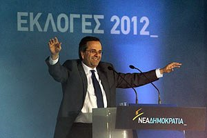 Антонис Самарас стал новым премьер-министром Греции