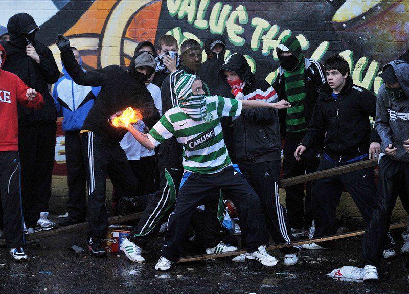 Протесты в Северной Ирландии