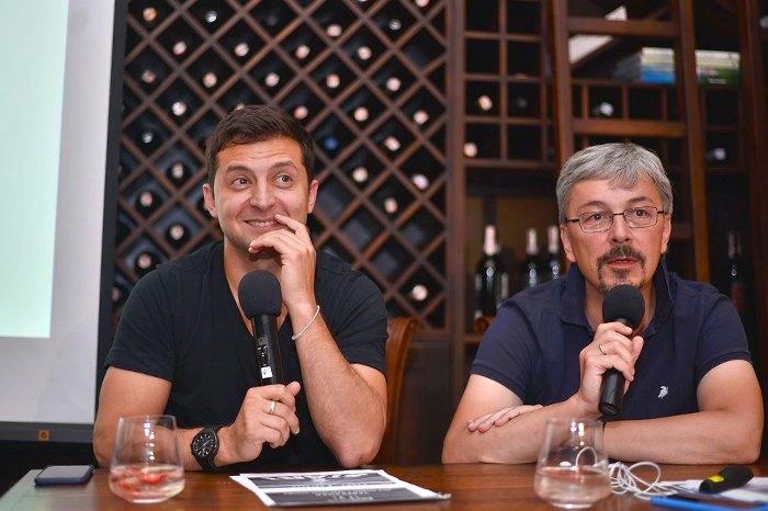 Владимир Зеленский и Александр Ткаченко