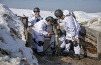 Пограничники провели минометные стрельбы в Черкасской области
