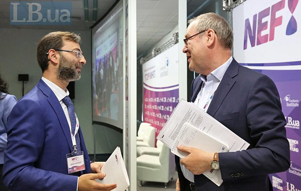 Matthes Buhbe (right) andGeorgiy Logvinskyi