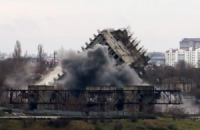 Севастопольская высотка упала