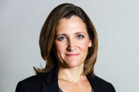 Христя Фріланд очолила міністерство фінансів Канади