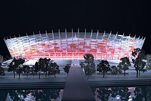 В Варшаве возникли серьезные проблемы со стадионом к Евро-2012