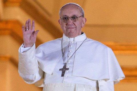 Папа Римський закликав до завершення війни в Україні