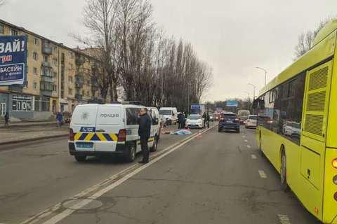 Во Львове два авто насмерть сбили 65-летнюю работницу коммунальной службы