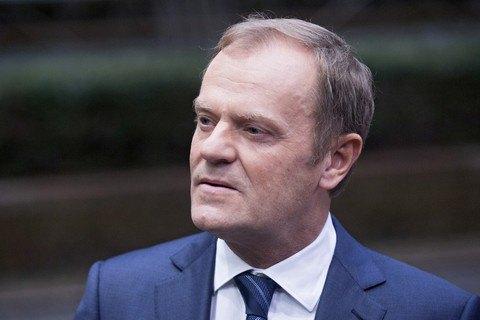 """Туск закликав Євросоюз пришвидшити роботу з блокування """"Північного потоку-2"""""""