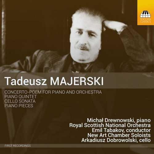 Обкладинка диску з творами Тадеуша Маєрського