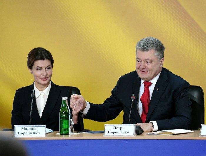 Марина Порошенко і Петро Порошенко