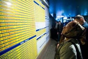 Киевский вокзал очистят от бездомных и торгашей