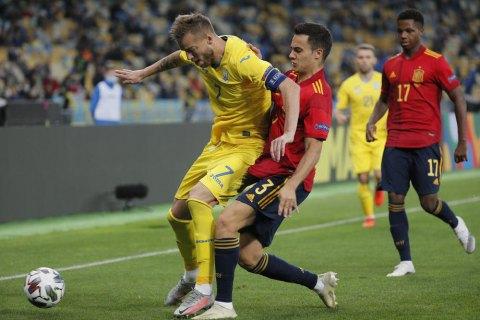 Ярмоленко проти іспанців відіграв ювілейний матч за збірну України і віддав ювілейну гольову передачу