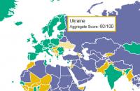 """Україна залишилася """"частково вільною"""" країною за версією Freedom House"""