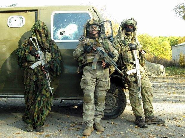 Друг Лесник и бойцы ДУК на Восточном фронте